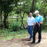 Director de la Sede de Guanacaste Razziel Acevedo y el rector Henning Jensen