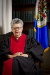 Elizabeth Odio es jueza de la Corte Interamericana de Derechos Humanos.